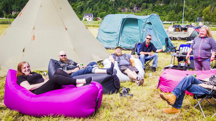 Happy Campers - Foto: Synne Nilsson