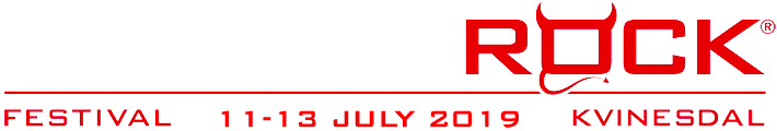 Norway Rock Festival | 11-13 Juli 2019 Kvinesdal