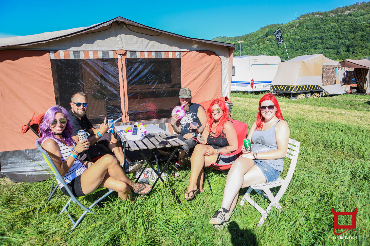 Happy Campers – Foto: Synne Nilsson